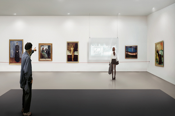 艺术馆概念展厅